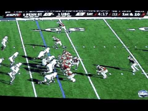 USC QB #6 Mark Sanchez Highlights 2008 Video