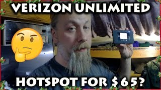 Verizon's $65 Prepaid UNLIMITED HOTSPOT Plan WORTH IT For RV NOMADS? REAL LIFE Speed Tests!