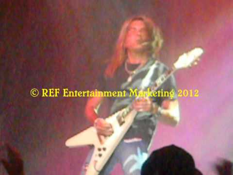 CARLOS CAVAZO Come On Feel The Noise Part 3 Las Vegas Copyright REF Entertainment Marketing 2012