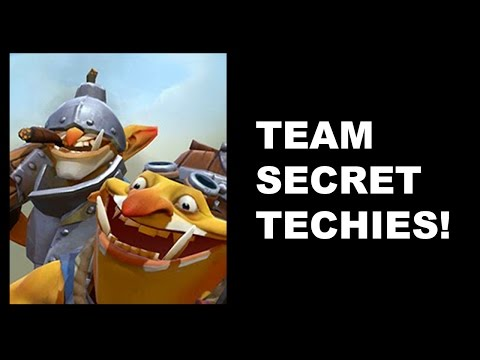 SECRET TECHIES - It's A Trap! - ESL ONE Frankfurt Dota 2