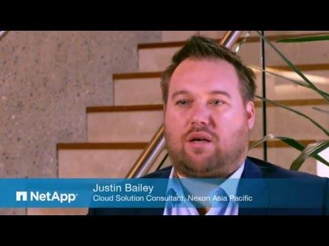 Case Study: Nexon Asia Pacific delivers their Agile Business Cloud platform on NetApp