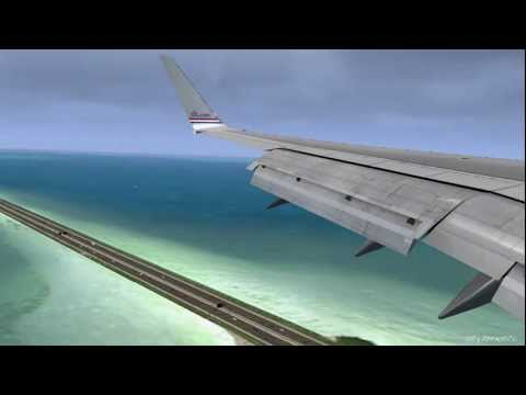 FSX SP2 DX10 - QualityWings 757 QWHDT - Tampa Rebooted (FlyTampa) - nVidia 8800GT