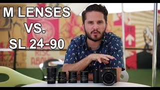 24-90 Zoom vs. M Lenses on the Leica SL (Typ 601) in Wynwood, Miami