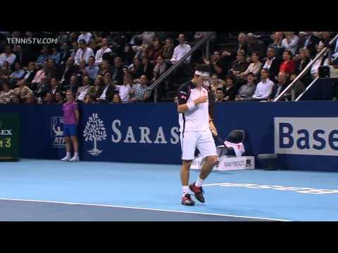 Roger Federer vs Kei Nishikori 2011 Basel Final
