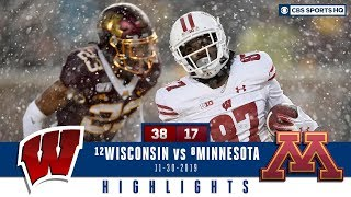 #12 Wisconsin vs #8 Minnesota Highlights: Badgers take back Axe in snowy vs Gophers | CBS Sports HQ