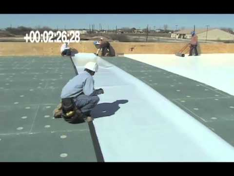 SAT (Self Adhering Technology) TPO Roofing System