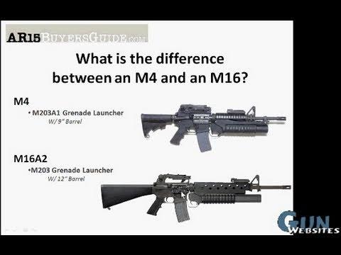 M-4 Carbine vs. M-16