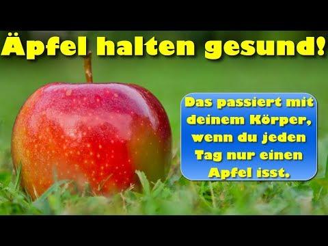 Äpfel halten gesund – Das passiert mit deinem Körper, wenn du jeden Tag einen Apfel isst
