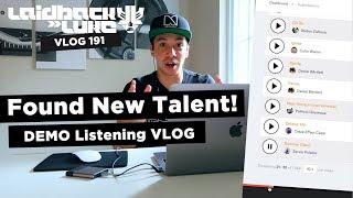 Found New Talent! DEMO Listening VLOG