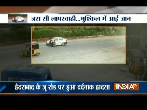 CCTV Visuals Show Horrible Accident at Hyderabad's Nehru Zoo Park