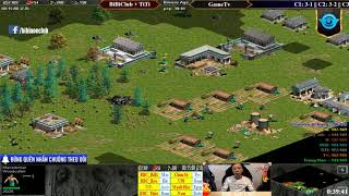 C4T2 AoE Random 4vs4 BiBiClub + TiTi vs GameTv Ngày 18-01-2019