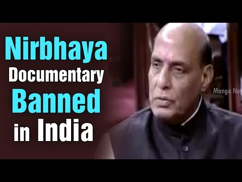 Nirbhaya documentary, India's Daughter, is banned in India: Home Minister Rajnath Singh