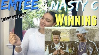EMTEE FT NASTY C - WINNING (OFFICIAL MUSIC VIDEO) * REACTION * | The STAR FAMily