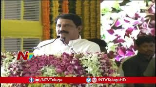 Ganta Srinivasa Rao Speech | TDP Jnana Bheri Programme Live from Ongole | NTV