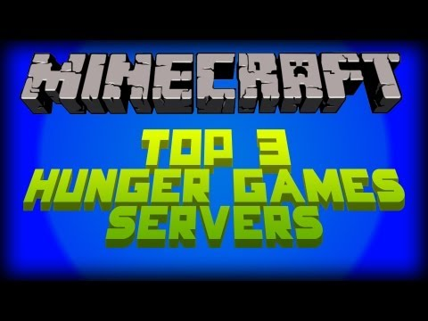 Minecraft: Top 3 Hunger Game Servers of 1.6.2