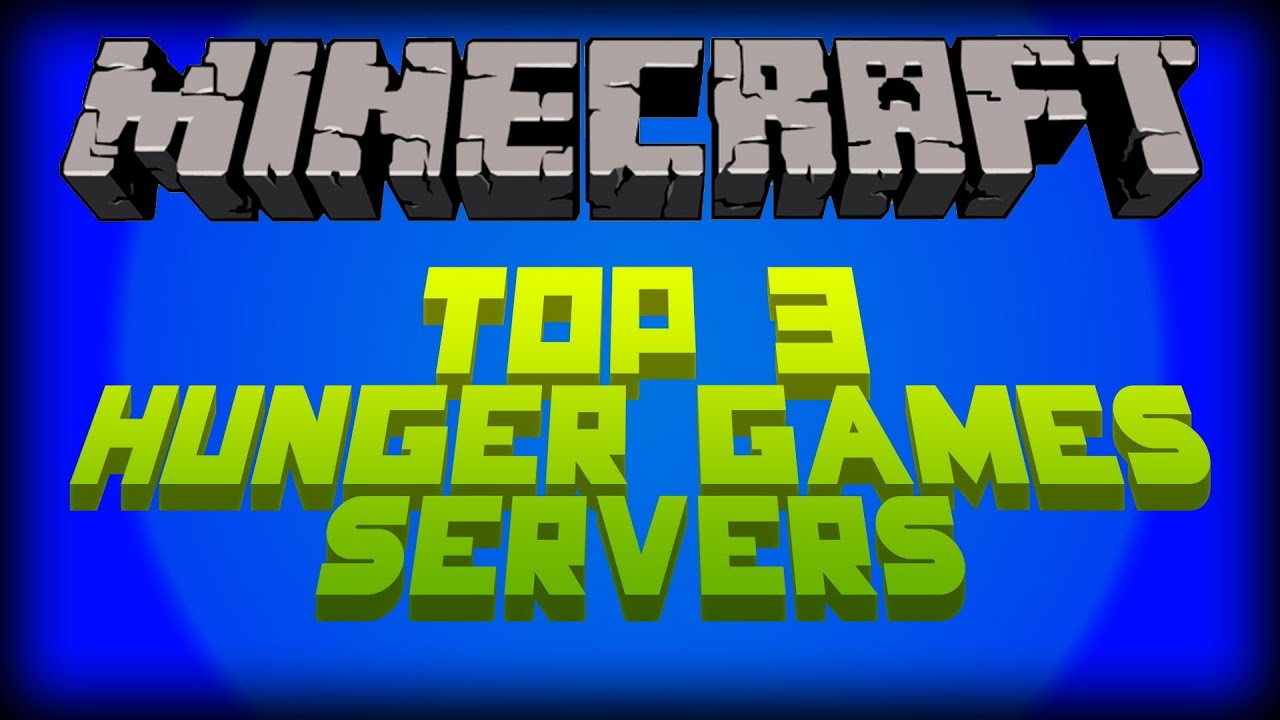 Minecraft Top 3 Hunger Game