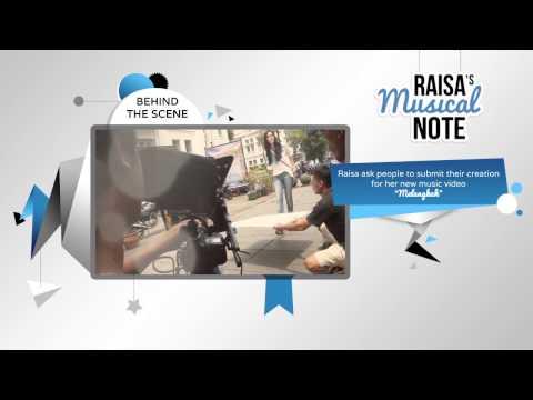 video case Raisa Musical Note