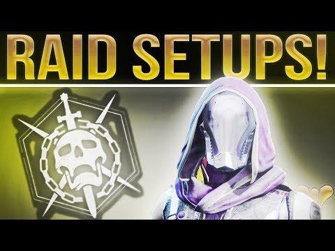 Destiny 2. My Best Weapon Setup For Every Raid Encounter. Leviathan Raid Destiny 2.