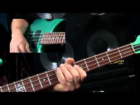 Stu Hamm U: Slap Bass - #7 E Minor Playalong - Bass Guitar Lessons video