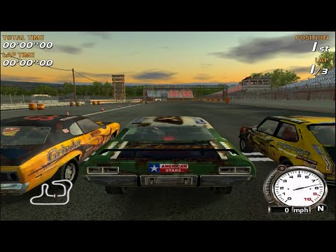 FlatOut 1 Gameplay (PC/HD)