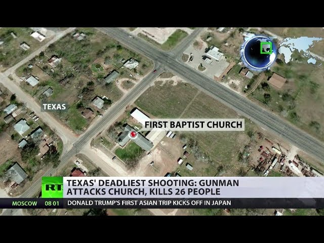 Texas' deadliest shooting: Gunman attacks Sutherland Springs church, kills at least 26