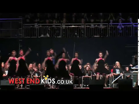 West End Kids perform Oliver Medley at the London O2 Arena