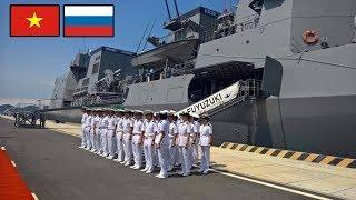 Quân cảng Cam Ranh vỡ òa niềm vui, rộn ràng đón tàu hộ vệ tên lửa Gepard thứ 4 của HQVN