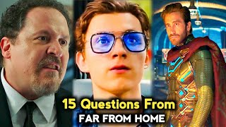 Top 15 Questions From Spiderman Far From Home Movie in Tamil