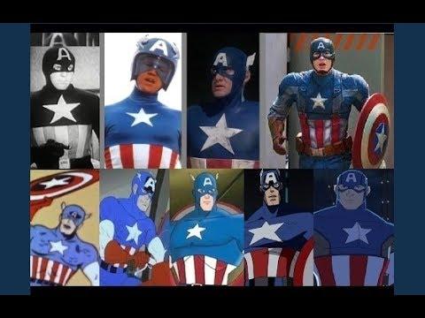 Captain America – Evolution in TV & Movies (Upgrade)