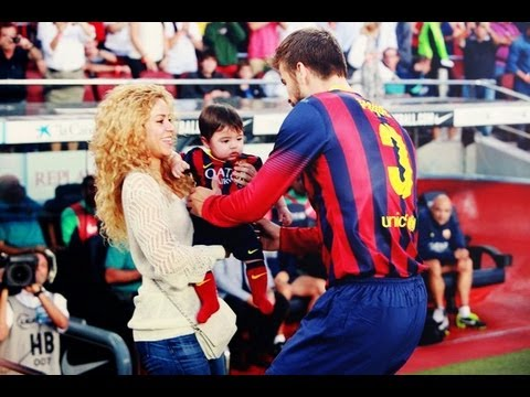 Fotos Shakira Pique Milan Shakira y Milan Apoyan a Pique