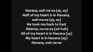 Download Lagu Camila Cabello - Havana ft.  Young Thug Lyrics Gratis STAFABAND