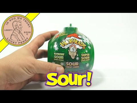 WarHeads Sour Candy Christmas Ornament - 2013 Christmas Candy & Snack Series