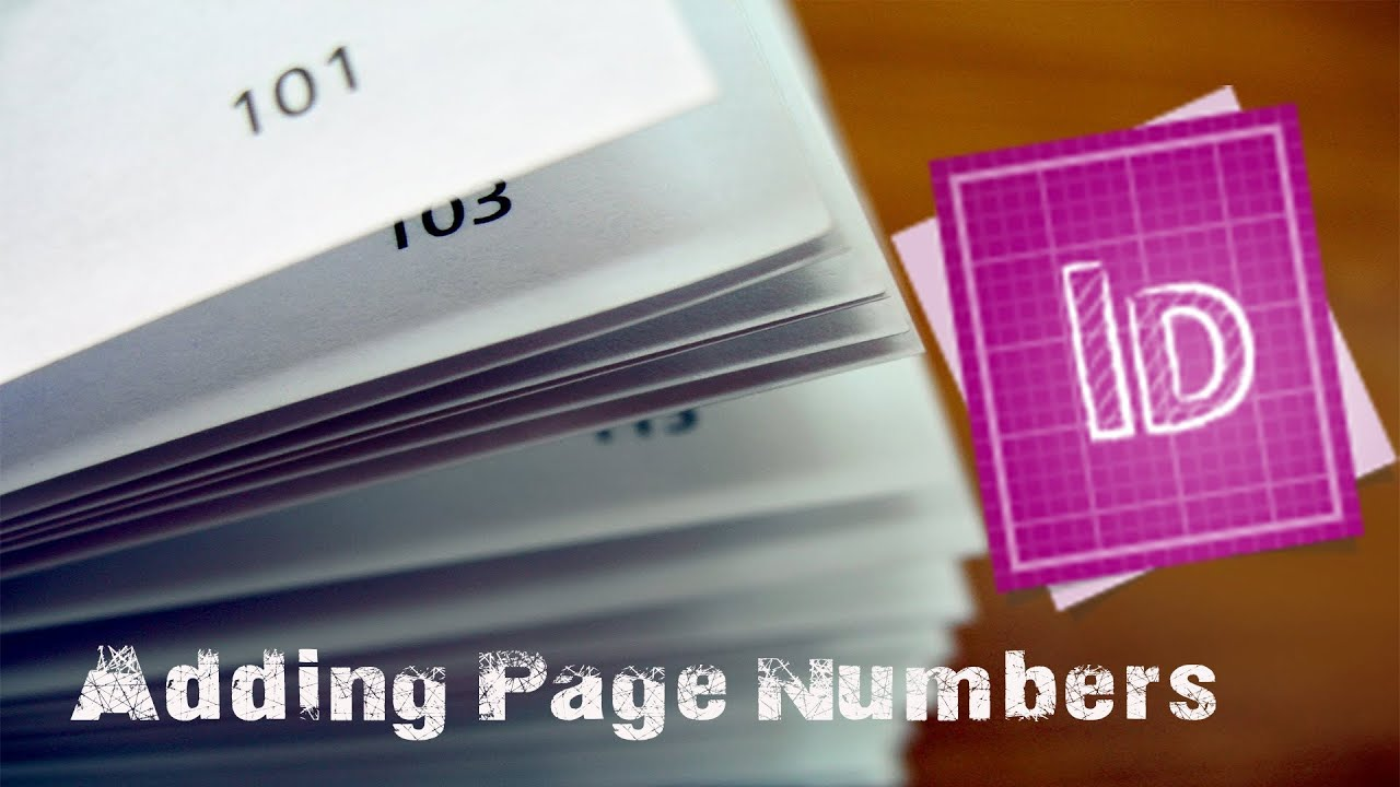 how to move page numbers in adobe in design