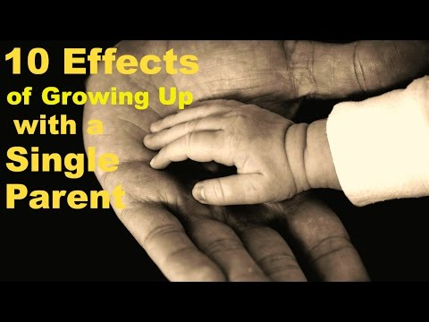 10 Effects of Growing up with a Single Parent | Psych2Go Ft. Donna