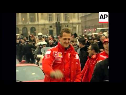 Schumacher - Former F1 champion Michael Schumacher  in coma after skiing accident
