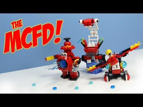 LEGO Mixels Series 8 MCFD Splasho Aquad & Hydro Max? Opening Review