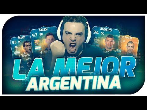 FIFA 15 | LA MEJOR PLANTILLA ARGENTINA + RONALDO IN A PACK | Ultimate Team | DoctorePoLLo