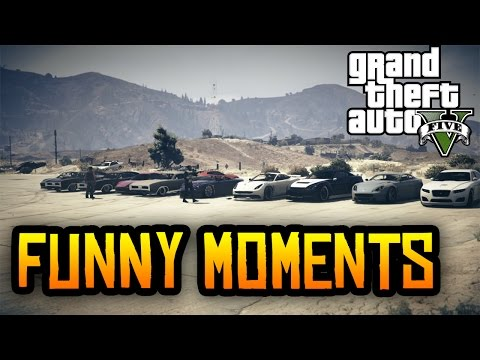 GTA 5 Funny Moments: 30 Player Races & More! (GTA V Funny Moments Online PS4 & Xbox One)