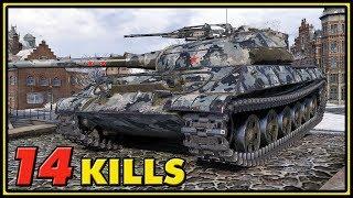 Object 430U - 14 Kills - World of Tanks Gameplay