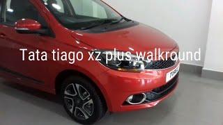 2019 Tata Tiago XZ  Plus Berry Red Walkround Exterior And Interior