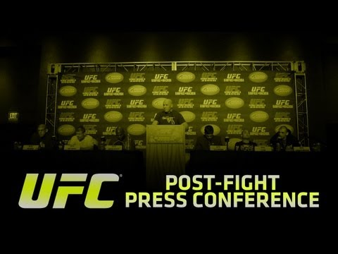 UFC on FUEL TV 8: Silva vs Stann Post-fight Press Conference