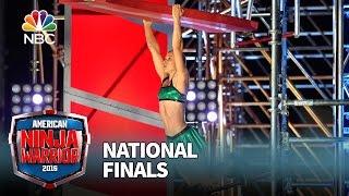 Jessie Graff at the National Finals: Stage 2 - American Ninja Warrior 2016