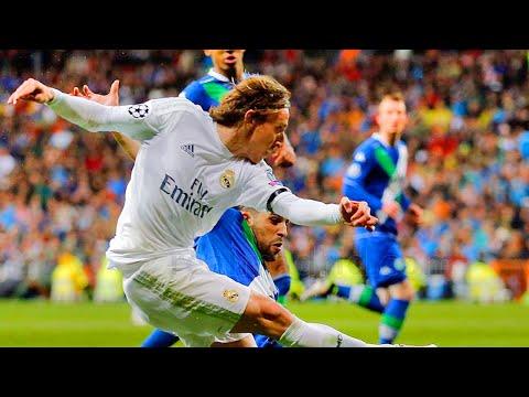 Luka Modric vs Wolfsburg Home 12.04.2016 [HD]