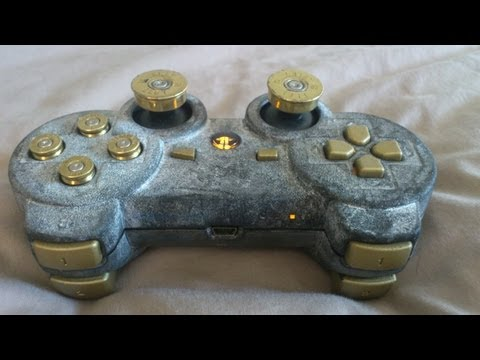 LED BULLET BUTTON PAINT MOD PS3 CONTROLLER