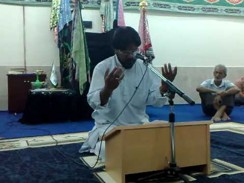 Qaidkhane Me Zainab Ne Rokar Kaha- Syed Nazar Abbas video