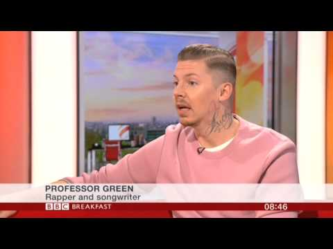 Professor Green Interview BBC Breakfast 2014