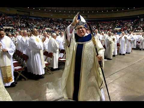 Rev. Michael Olson Ordained As New Fort Worth Catholic Church Bishop