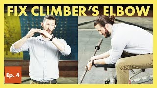 Climber's Elbow: What it is and how to treat it. Hooper's Beta Ep. 4