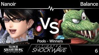 USW 6 - Nanoir (Bayonetta) vs HMO   Balance (King K. Rool, Wii Fit) Pools - Winners - SSBU