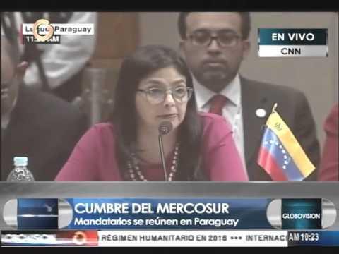 Malcorra: Macri no responderá, porque la información que tenía Delcy Rodríguez era errónea